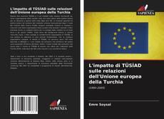 L'impatto di TÜSİAD sulle relazioni dell'Unione europea della Turchia kitap kapağı
