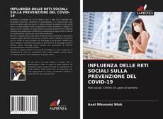 Portada del libro de INFLUENZA DELLE RETI SOCIALI SULLA PREVENZIONE DEL COVID-19
