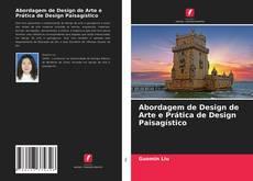 Capa do livro de Abordagem de Design de Arte e Prática de Design Paisagístico