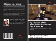 Bookcover of Application of the Monitorio Procedure in South America