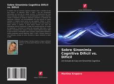 Buchcover von Sobre Sinonímia Cognitiva Difícil vs. Difícil