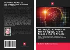 Capa do livro de MEDITAÇÃO ADVAITA III: Não há espaço, não há tempo e não há Criação