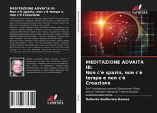 Copertina di MEDITAZIONE ADVAITA III: Non c'è spazio, non c'è tempo e non c'è Creazione