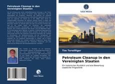 Capa do livro de Petroleum Cleanup in den Vereinigten Staaten