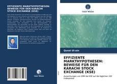 Bookcover of EFFIZIENTE MARKTHYPOTHESEN: BEWEISE FÜR DEN KARACHI STOCK EXCHANGE (KSE)