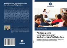 Couverture de Pädagogische Intervention und Verhaltensauffälligkeiten