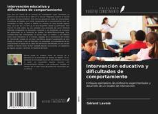 Capa do livro de Intervención educativa y dificultades de comportamiento