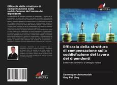Portada del libro de Efficacia della struttura di compensazione sulla soddisfazione del lavoro dei dipendenti
