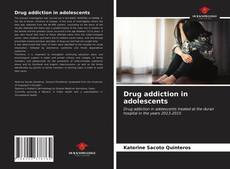 Buchcover von Drug addiction in adolescents