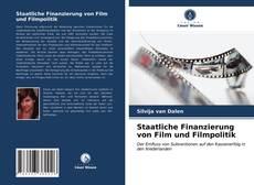 Buchcover von Staatliche Finanzierung von Film und Filmpolitik
