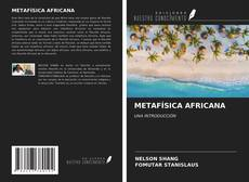 METAFÍSICA AFRICANA kitap kapağı