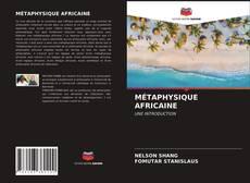 Buchcover von MÉTAPHYSIQUE AFRICAINE