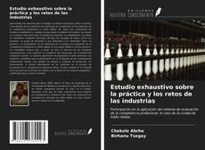 Borítókép a  Estudio exhaustivo sobre la práctica y los retos de las industrias - hoz