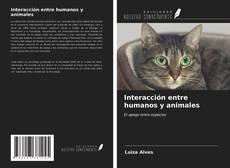 Buchcover von Interacción entre humanos y animales