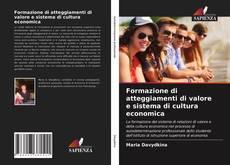 Capa do livro de Formazione di atteggiamenti di valore e sistema di cultura economica