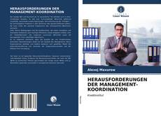 Bookcover of HERAUSFORDERUNGEN DER MANAGEMENT-KOORDINATION