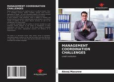 Buchcover von MANAGEMENT COORDINATION CHALLENGES