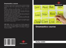 Bookcover of Onomastics course