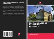 Copertina di PECULIARIDADES DO PATRIMÔNIO RESIDENCIAL