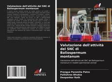 Bookcover of Valutazione dell'attività del SNC di Baliospermum montanum