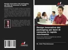 Capa do livro de Design innovativo del packaging per beni di consumo in rapido movimento