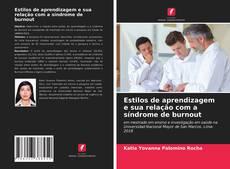 Bookcover of Estilos de aprendizagem e sua relação com a síndrome de burnout