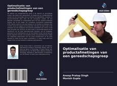 Bookcover of Optimalisatie van productafmetingen van een gereedschapsgreep
