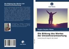 Buchcover von Die Bildung des Wertes der Umweltverantwortung