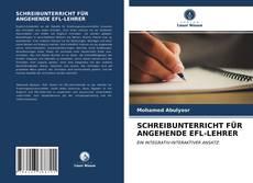 Обложка SCHREIBUNTERRICHT FÜR ANGEHENDE EFL-LEHRER