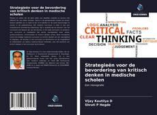 Strategieën voor de bevordering van kritisch denken in medische scholen kitap kapağı