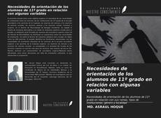 Bookcover of Necesidades de orientación de los alumnos de 11º grado en relación con algunas variables