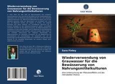 Portada del libro de Wiederverwendung von Grauwasser für die Bewässerung von Nahrungsmittelkulturen