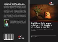 Buchcover von Riutilizzo delle acque grigie per l'irrigazione di colture alimentari
