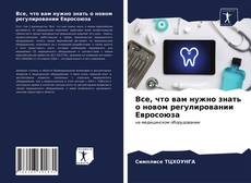 Bookcover of Все, что вам нужно знать о новом регулировании Евросоюза