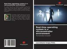 Capa do livro de Real-time operating system in a microcontroller environment