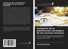 Bookcover of Evaluación de la planificación estratégica de los recursos humanos