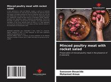 Buchcover von Minced poultry meat with rocket salad