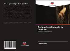 De la généalogie de la punition kitap kapağı