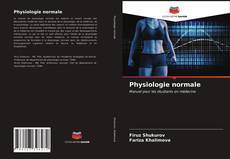 Bookcover of Physiologie normale