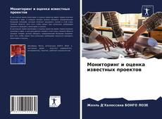 Buchcover von Мониторинг и оценка известных проектов