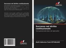Capa do livro de Successo nel diritto costituzionale