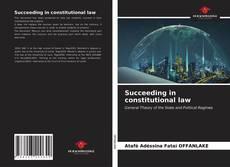 Capa do livro de Succeeding in constitutional law