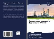 Buchcover von Загрязнение воздуха в Дургапуре - Обзор