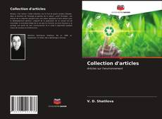 Bookcover of Collection d'articles