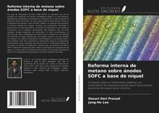 Bookcover of Reforma interna de metano sobre ánodos SOFC a base de níquel