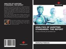 Copertina di ANALYSIS OF AUDITING STANDARDS: THE REPORT