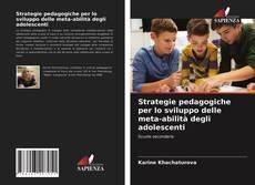Обложка Strategie pedagogiche per lo sviluppo delle meta-abilità degli adolescenti