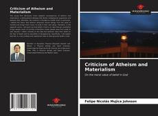 Buchcover von Criticism of Atheism and Materialism