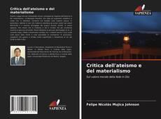 Borítókép a  Critica dell'ateismo e del materialismo - hoz