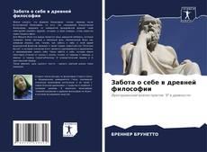 Buchcover von Забота о себе в древней философии.